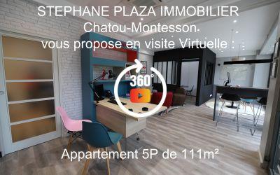 Appartement Chatou 5P 5' RER A Chatou