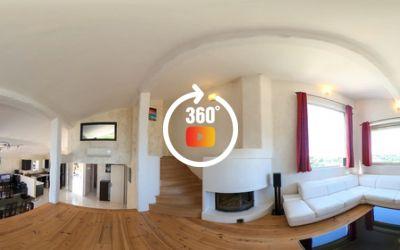 Quartier résidentiel très recherché pour cet appartement \/ Villa 3 pièces au calme absolu, à la vue panoramique dégagée et aperçu mer