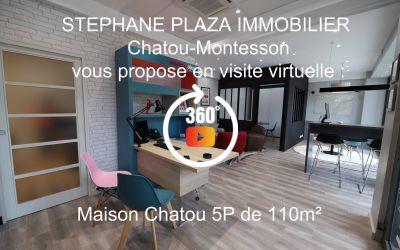 MAISON CHATOU 5P 110M²