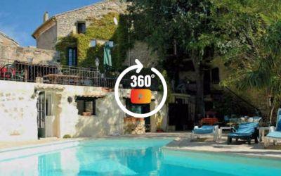 Uzes long term rental in Provence, France (sleeps 8) (Ref: 530)