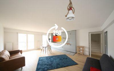 Appartement T6 115 M2 avec terrasse à louer quartier Jardin Public