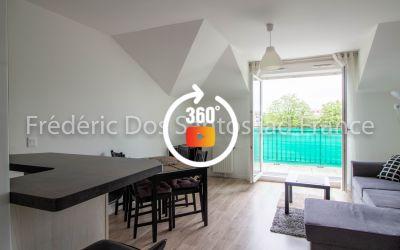 Location Meublés - Appartement 3 pièces de 57 m²