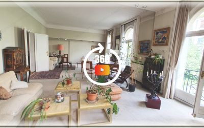 Grand appartement bourgeois au pied du bois de boulogne 309m²