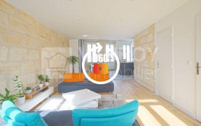 Bordeaux - Barrière du Médoc \/ Appartement esprit Loft en Duplex
