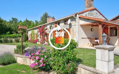SUPERBE FERMETTE PROCHE PARTHENAY \/ STUNING RENOVATED FARMHOUSE