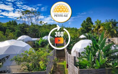 Bubble dôme village Petite Ile
