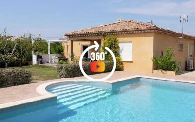 VILLA ROSIER - NEZIGNAN L'EVEQUE HOLIDAY VILLA SOUTH FRANCE SLEEPS 6 (Ref: 1281)