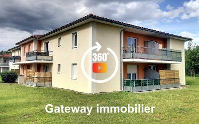 appartement F2 avec Balcon à Gerzat