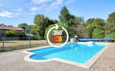 MAISON DE CAMPAGNE AVEC PISCINE - 4 BEDS VILLAGE HOUSE WITH POOL
