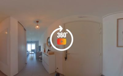 Appartement T3 avec terrasse dans résidence neuve à Marignane