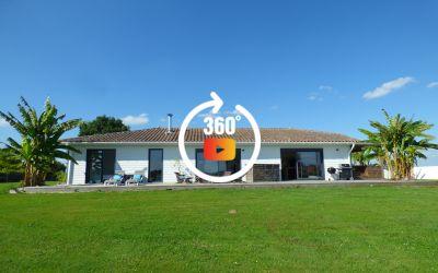 Villa récente de 183 m² sur 2342 m² avec vue panoramique