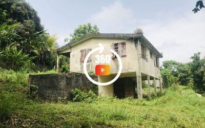Maison T3 Gros Morne terrain de 1110 m²