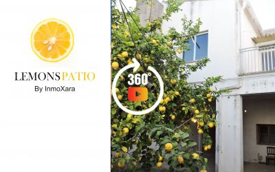 LEMON´S PATIO - CASA DE 2 VIVIENDAS CON PATIO Y GARAGE
