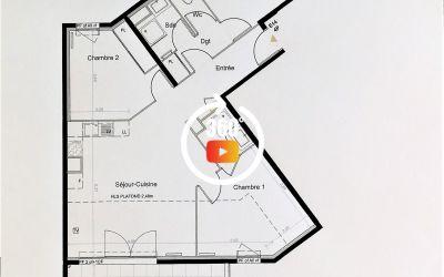 appartement neuf, T4 de 79m² (RT 2012), sur les hauteurs de Fréjus, proche écoles, commerces et plage