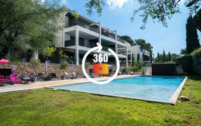 Appartement moderne de type 3P dans résidence de haut standing, parfaitement situé à Antibes