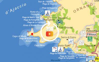 Lotissement à Coti-Chiavari tout proche de la plage