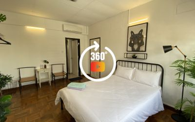 Textile centre 3 bedroom ( Black & White)