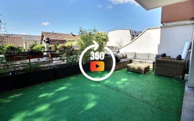 Appartement Terrasse 4 pièces de 78,5m² Antony Centre ville