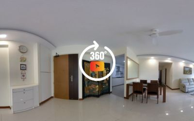 666B Punggol Drive 5 room