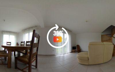 Maison de 2008 4 chambres, 363 m² de terrain clos