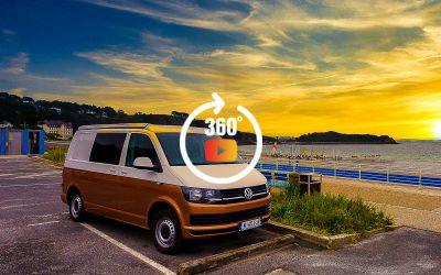 Présentation Rider Van VW T6 Modèle AVENTURE à Loguivy de la Mer