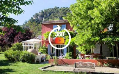 Provence farmhouse for long term rent France 5 beds