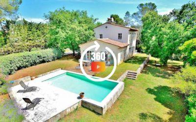 Valbonne long term rentals villa Cote d'Azur
