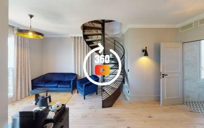 5 étoiles - Hôtel L'incomparable - Chambre Saphyr Duplex