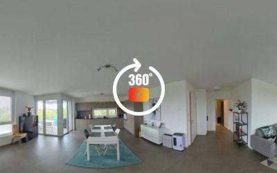 Superbe appartement neuf de 2,5 pièces avec balcon au centre de Bussigny