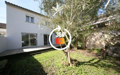 Maison T5 duplex 106 M2 avec garage et jardin quartier St Augustin
