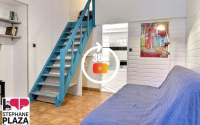 Appartement 2 pièces 25m² avec mezzanine