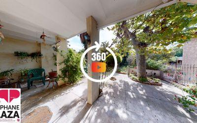 Marseille, A vendre Maison de type 4\/5 sur deux niveaux avec jardin, cuisine d'été et garage