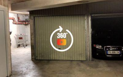 NICE OUEST \/ AVENUE DE FABRON. Garage fermé
