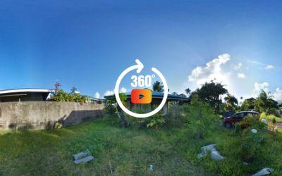 A vendre maison f3 (à terminer) sur terrain de 678m2 Taravao-centre