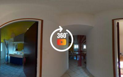 Longère 5 chambres, véranda,  m² de terrain boisé