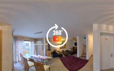 Superbe appartement de 3,5 pièces neuf, haut de gamme au centre du village