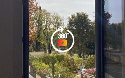 Aix centre ville a pied T2 avec terrasse parking et vue sur parc