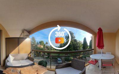 Appartement 1pièce (avec chambre) très bien situé à Cannes avec terrasse vue mer
