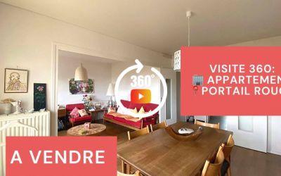 Visite virtuelle: F3 avec balcon et cave au Portail Rouge à Saint-Etienne