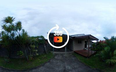Location maison F3 + studio à Papara