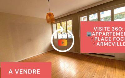 Visite virtuelle: F5 avec balcon et cave, poss garage, Place Foch, Saint-etienne