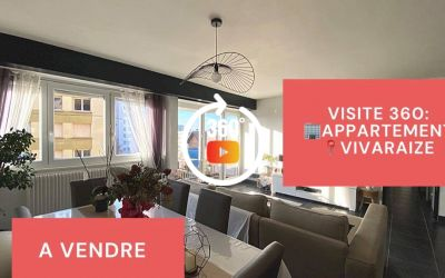 Visite virtuelle: F5 avec balcon, cave et garage, Vivaraize, Saint-Etienne