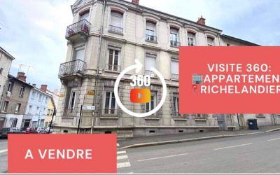 Visite virtuelle: F6, balcon, grand garage et remise, Richelandière\/ Chateaucreux, Saint-Etienne
