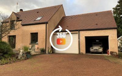 Maison de 130m² à Mousseaux-sur-Seine