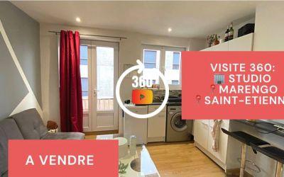 Visite virtuelle: studio, Hyper-Centre Ville de Saint-Etienne