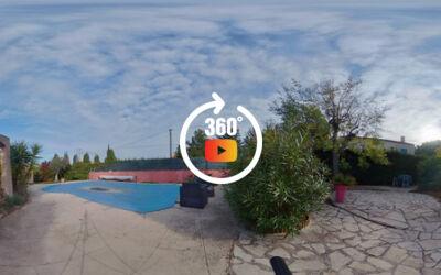 Villa T5 145m² sur 1000m² de terrain, piscine, sous sol aménagé - Châteauneuf les Martigues