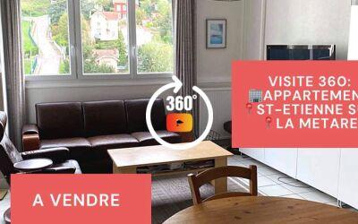 Visite virtuelle: F5 avec cave, La Métare, Saint-Etienne