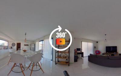 Villa T4 de 160m2 + studio 40m2 + buanderie 40m2 et garage 25m2 sur 1000m2 de terrain