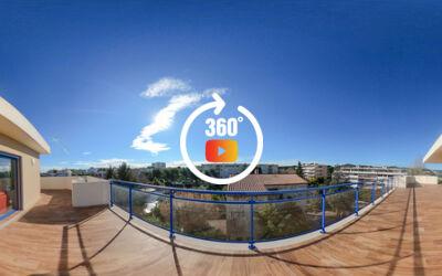 Superbe Villa sur le toit aux prestations très haut de gamme à Antibes
