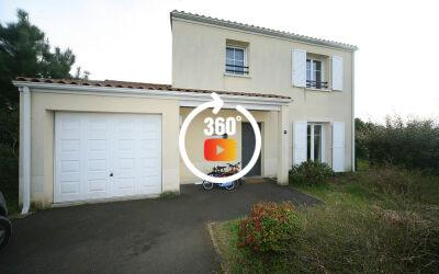 Maison T4 duplex porche Rives d'Arcins